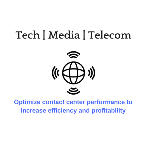 Contact center solutions for technology, media, and telecommunications