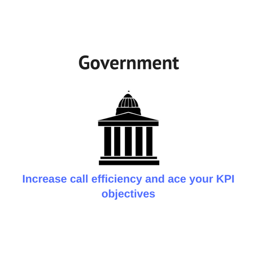 Contact center solutions for government organizations