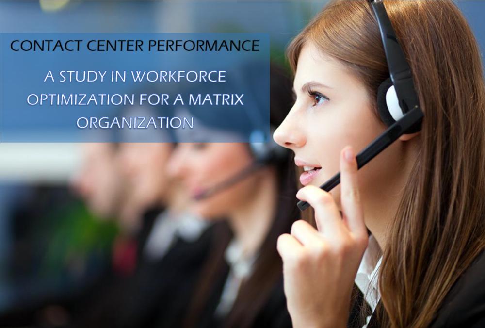contact center performance management BPO case study
