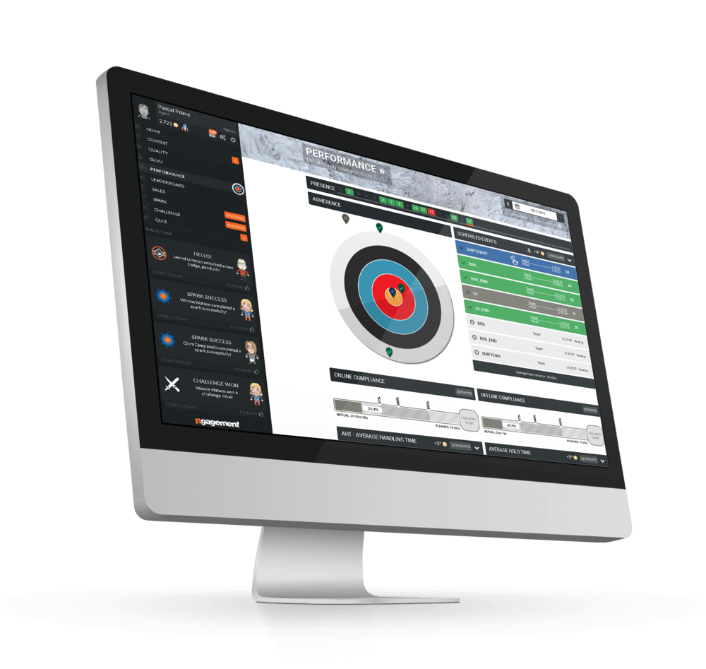 track performance & gamify kpis - Transform results into performance points. Track individual and team performance with the KPIs that matter the most for your company. Gain a better understanding of employee performance while tracking all that's important in one place.