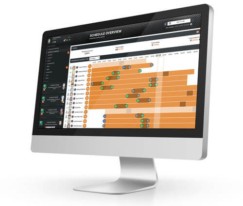analytics console for the management - Manager level access and visualization that delivers complete real-time visualization of your team performance. Behavioral data, performance optimization, attrition risks, absenteeism risks and more.