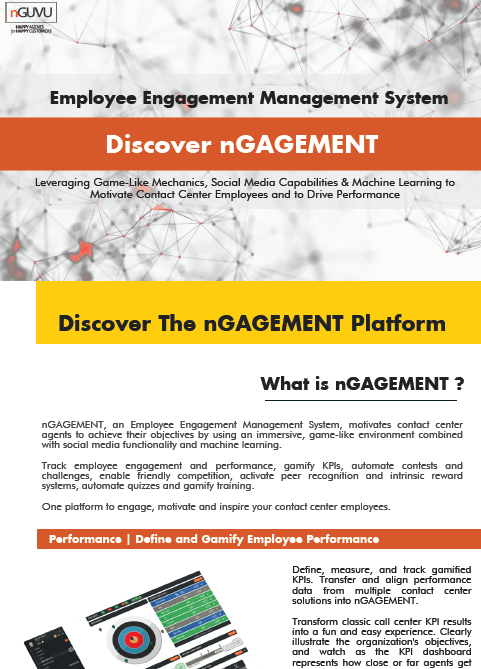 discover nguvu employee engagement platform for call centers
