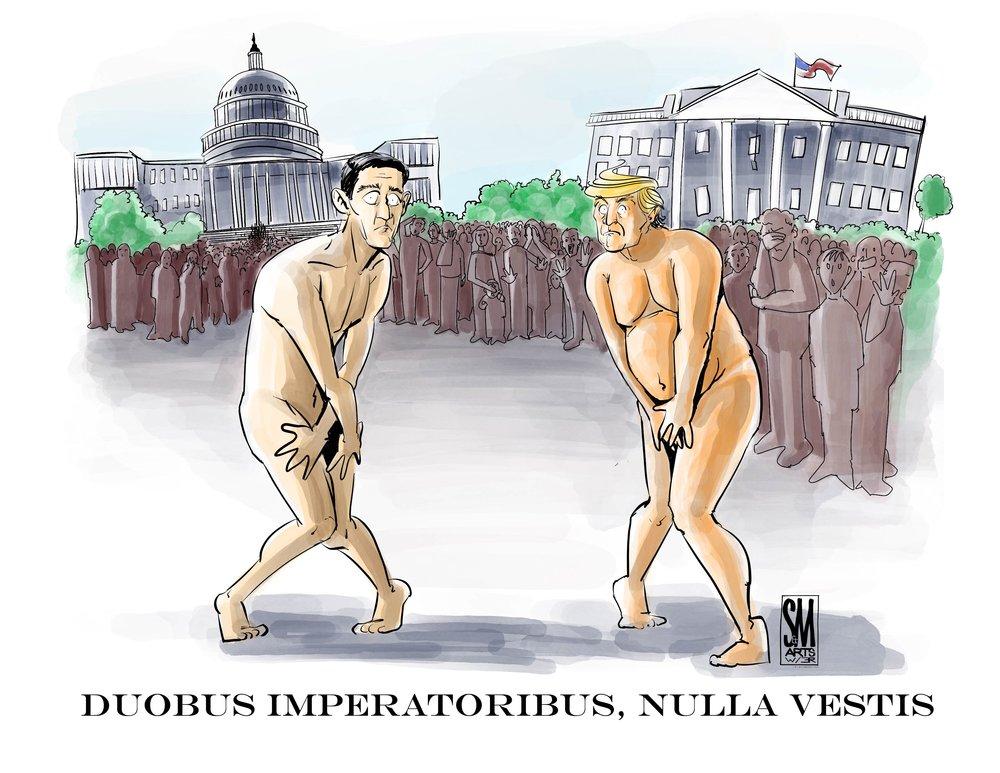 Doubus Imperatoribus, Nulla Vestis
