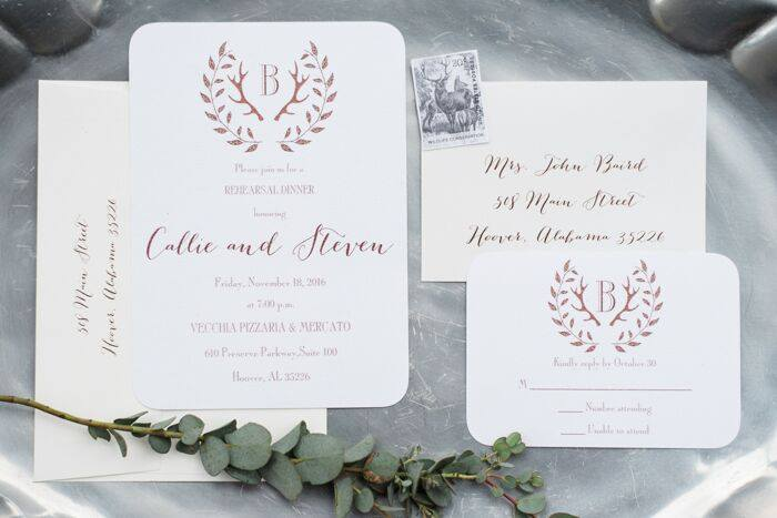 Birmingham AL Wedding Invitations