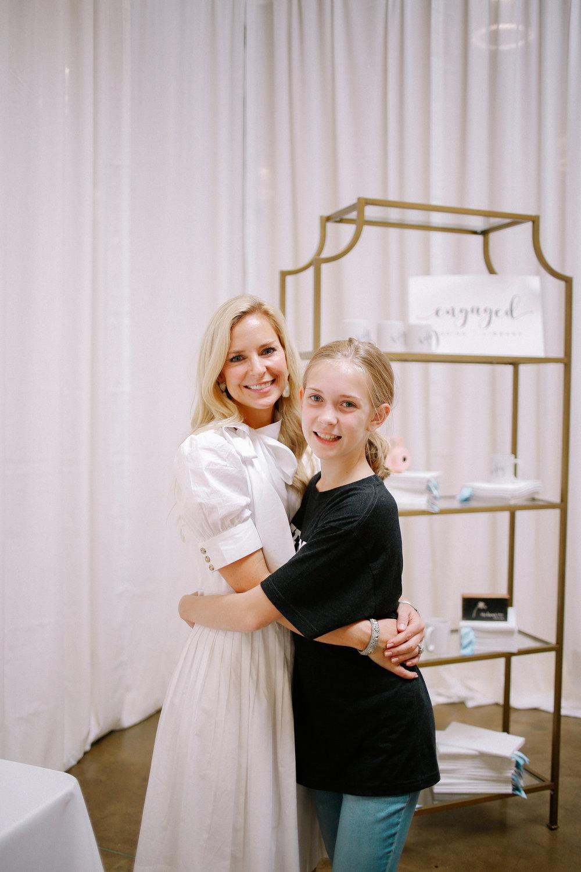 Steph & her daughter, Scarlett