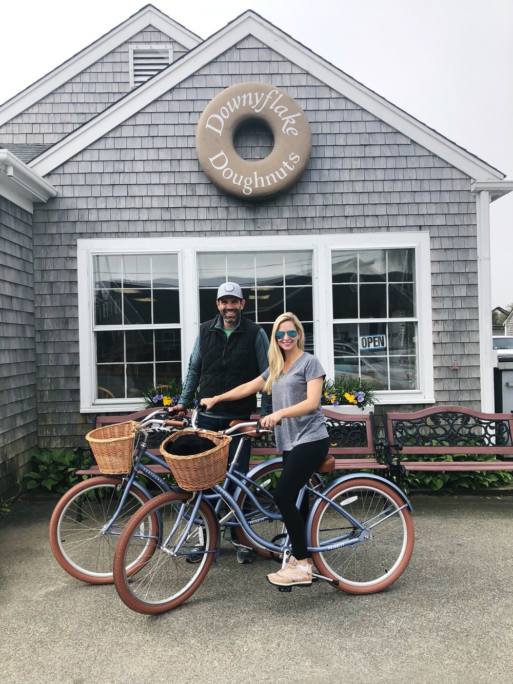 Steph and her handsome hubby vacationing in Nantucket, Massachusetts in 2018!