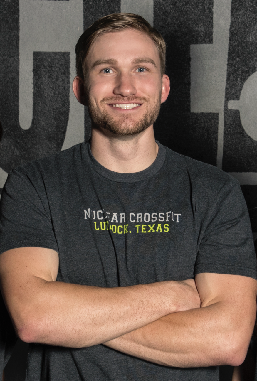 """TANNER FROST - OWNER, HEAD COACH   Tanner grew up playing sports and was always interested in fitness. When he was 17, he started working with a personal trainer who would eventually introduce him to CrossFit. The workouts were like nothing he'd ever done before. """"I spent tons of time in the gym learning everything I could about the methodology and application of CrossFit training.""""  Later, Tanner began working towards becoming a CrossFit coach. In 2013, he received his Level 1 certificate and opened Nuclear CrossFit the following year. Since then, he's expanded his expertise to CrossFit Gymnastics, Mobility, Weightlifting, Competitors, L2, and USA weightlifting.   CERTIFICATIONS   CrossFit L1 CrossFit L2 CrossFit Mobility CrossFit Weightlifting USA Weightlifting CrossFit Competitors CrossFit Gymnastics"""