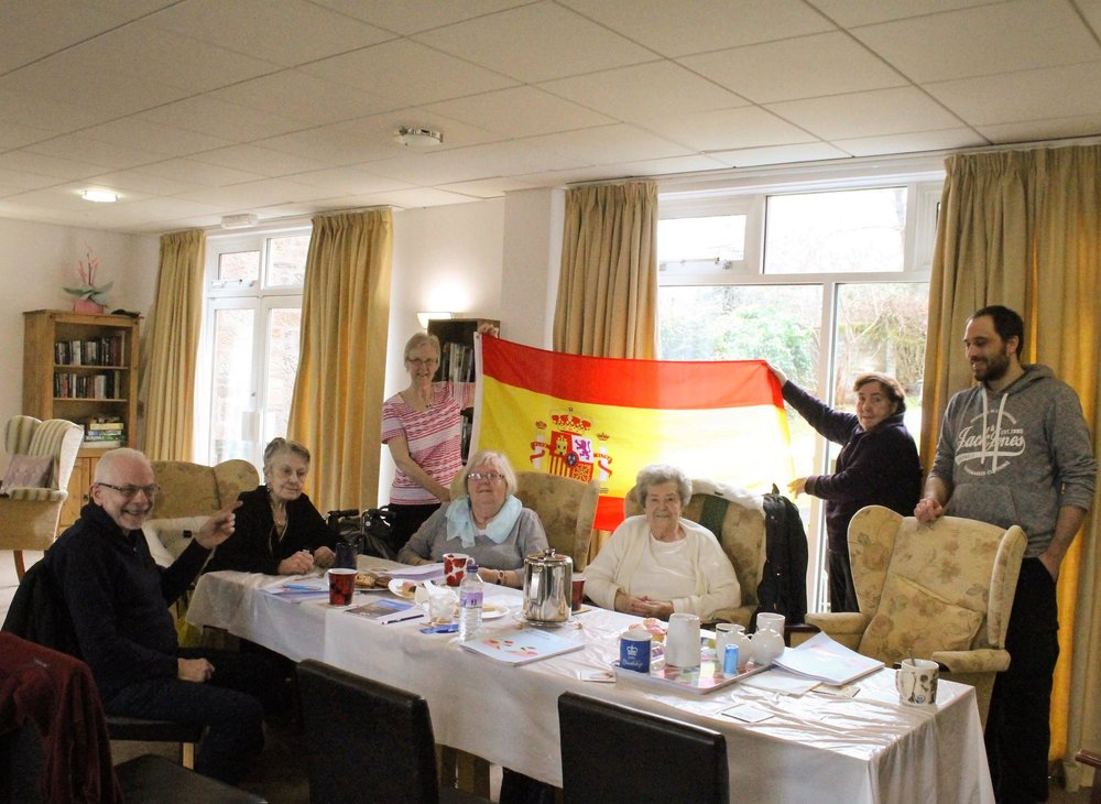 Spanish at Clarence Court Care Home, Glasgow