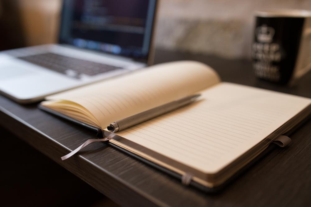 notebook pen