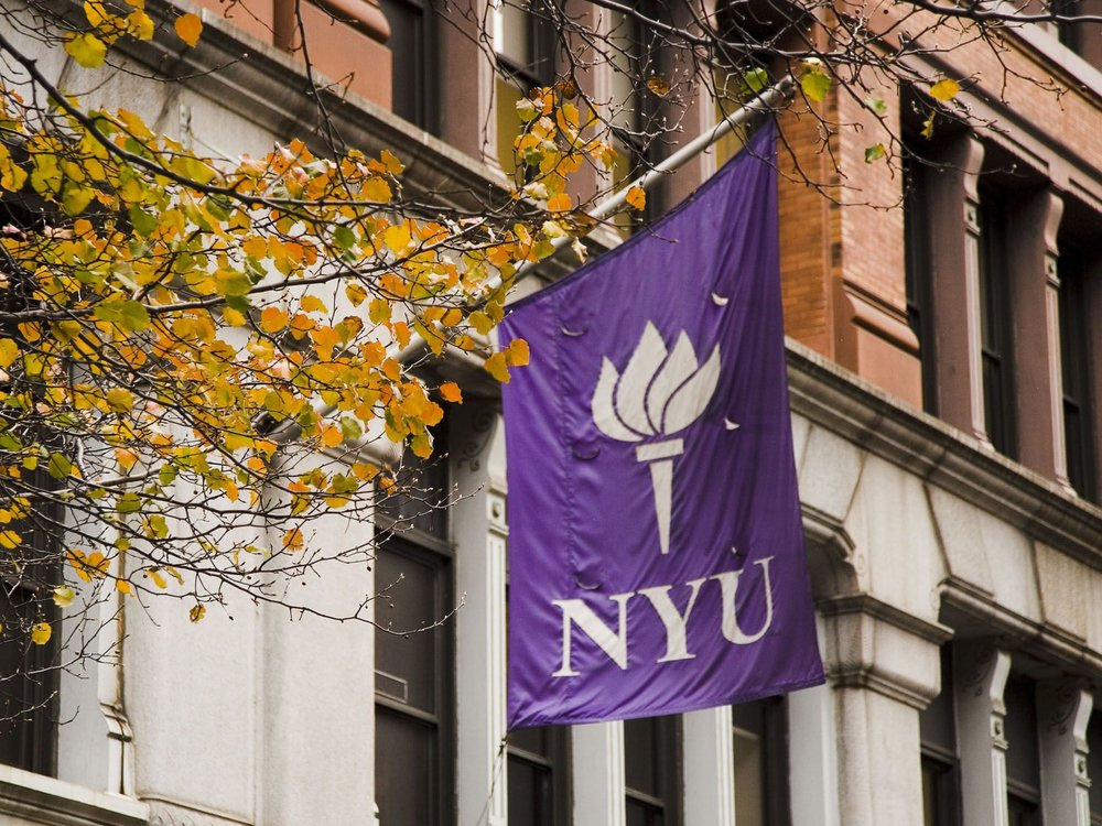 I will save you the Google: NYU's acceptance rate is 33%, Baruch's is 27.9% and Lehman's is 28.9%. Go Marie!!