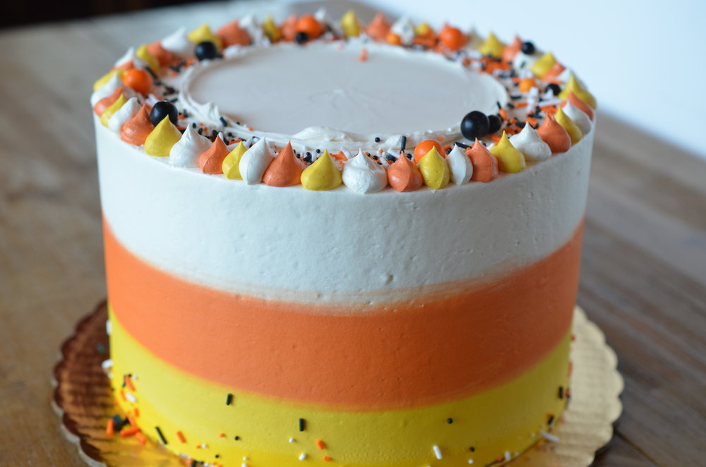 Candy Corn Cake (Oct)