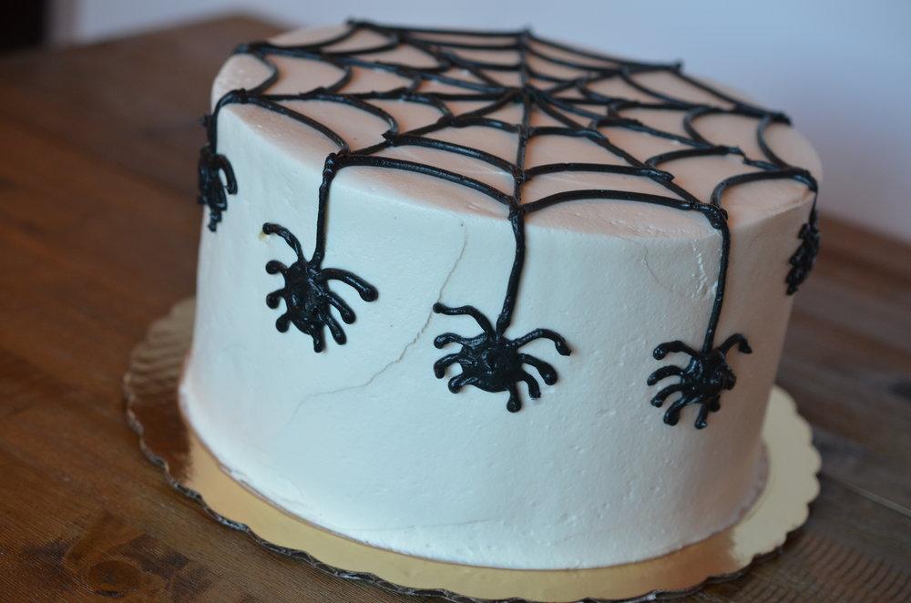 Spider Web Cake (Oct)