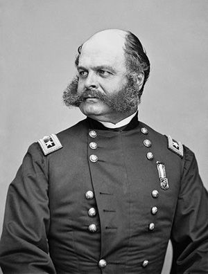 "Ambrose Burnside (and, yes, origin of the term ""sideburn"")"