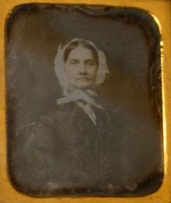 Susan Foster Ireland, Circa 1864, Original at Cole Camp Museum, copy on Findagrave.com