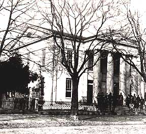 The Lyceum was built as a lecture hall and library in the 1830s; it was one of Alexandria's 32 Union hospitals during the Civil War.