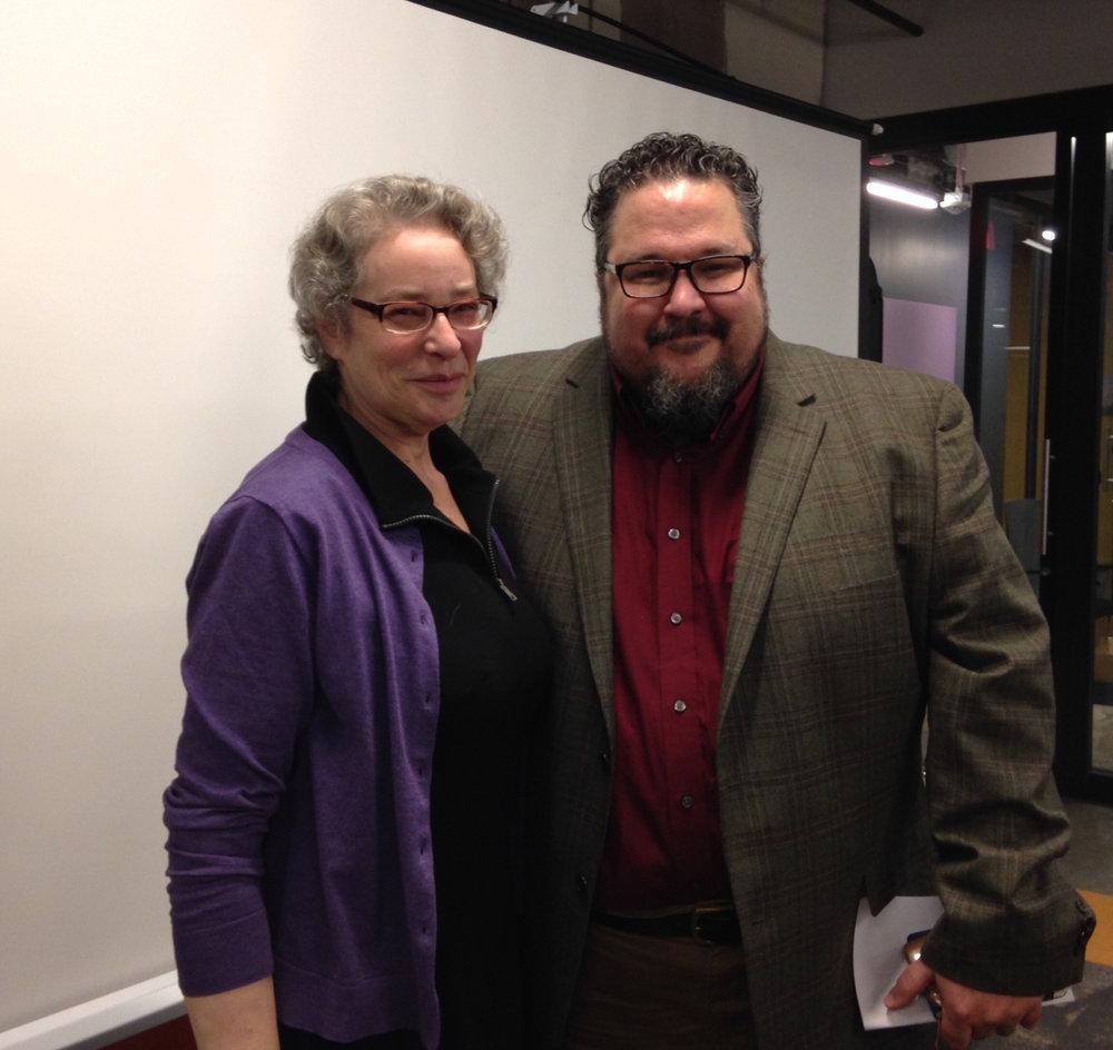 Kim Roberts and Dan Vera,  DC Writers' Homes  creators