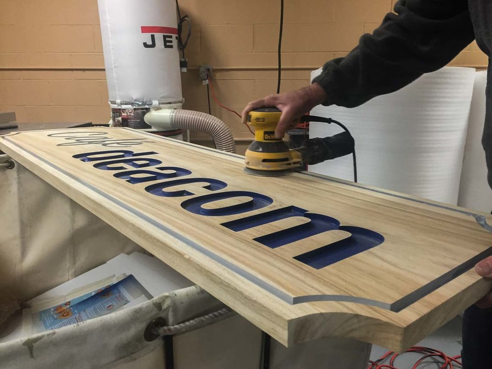 FABRICATION - When people come together, anything can be achieved. With this belief, we welcome the opportunity to offer fabrication solutions to fit your signage needs. With a focused approach, the finest production team, and years of experience, we are suited to bring your project to life.