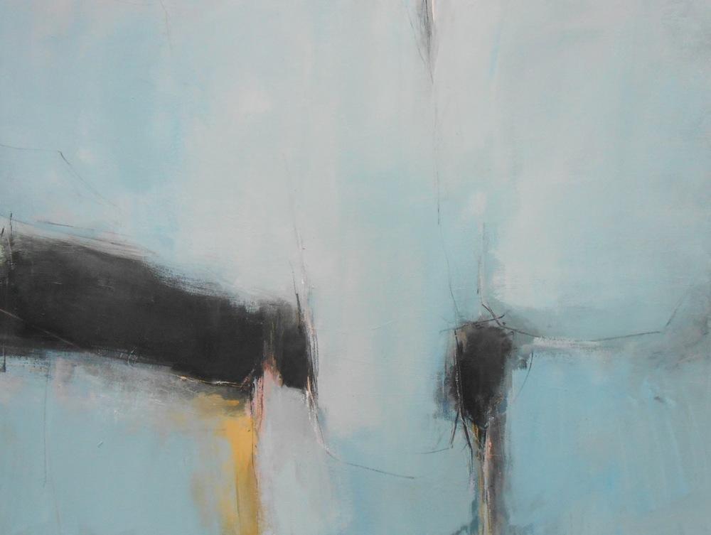 'Familiar walk II' oil on canvas 92 x 122cm