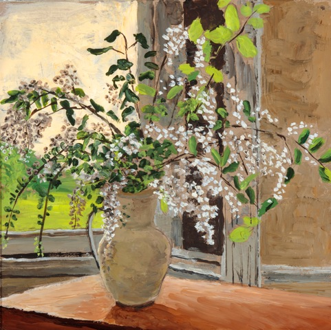 White Lilac at the Window (SOLD)