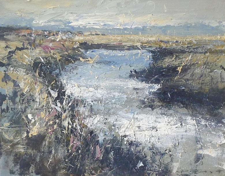 Cool and Calm, Brancaster 50x40cm plus frame, acrylic on canvas panel £1600.00.jpeg