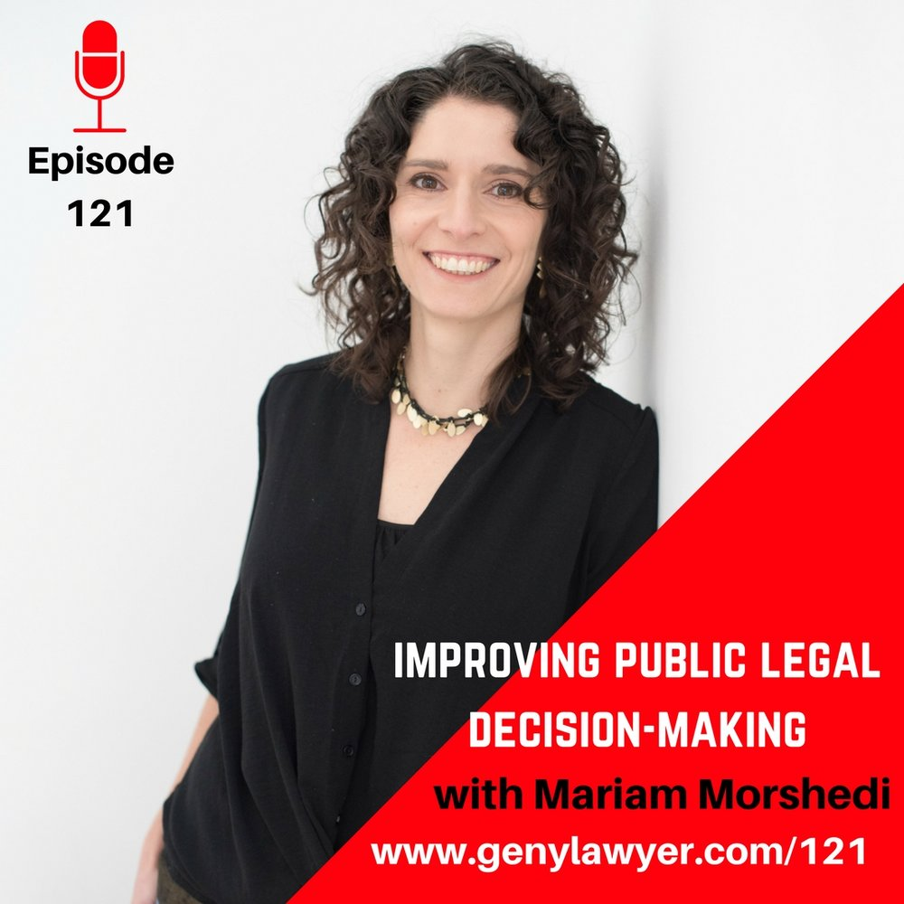 Subscript's founder was featured on The Gen Why Lawyer Podcast! - Hear our founder Mariam Morshedi tell Subscript's story.