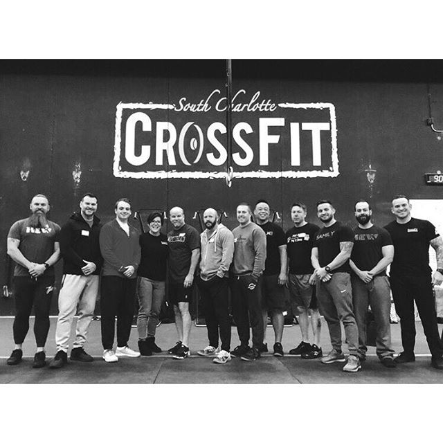 • It was a great weekend at the  @crossfit_weightlifting Level 1 Seminar lead by @kim_trego, teaching the #burgenerway • Too many PR's to count! • Thank you to @southcltcrossfit for hosting • #burgenerstrength #deepbluefitness #staywavy