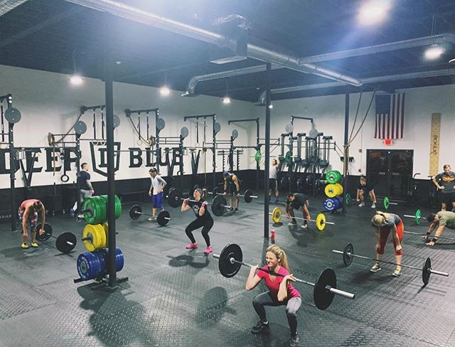 • Are You Sticking To Your New Year's Goals? • No Time Like The Present • Try Us Today! • #2019 #crossfit #deepbluefitness #staywavy