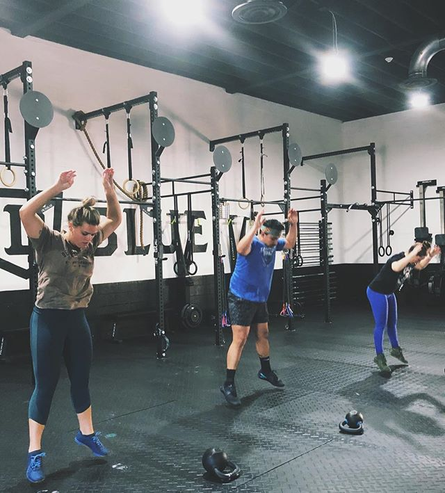 • Do It On The Days You Don't Want To • #worthit #staywavy #deepbluefitness #crossfit