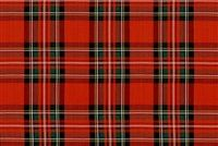 Traditional plaid refers to a pattern consisting of cross cross horizontal and vertical bands in multiple colors.