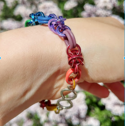 Zoe Say Rainbow Bracelet Pride Blog Post 2018