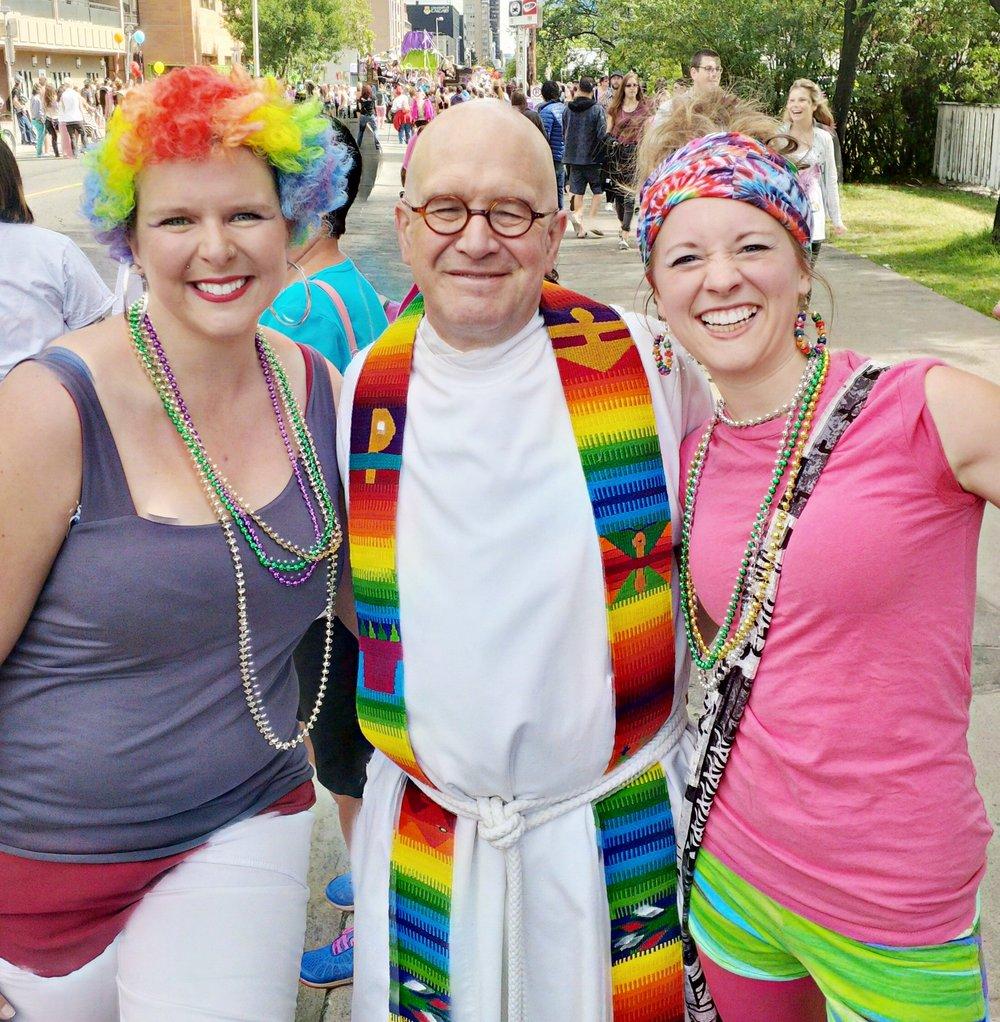 Zoe Say Tim Nethercott Pride Parade 2017