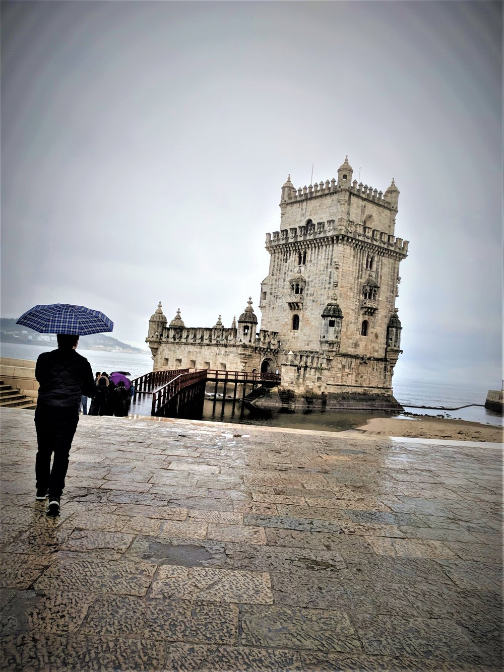 The Gloomy Tower of Belem