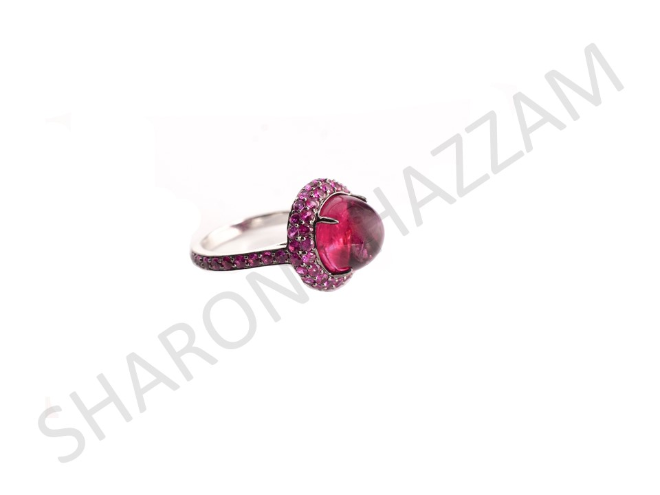Rubellite Jilly Ring