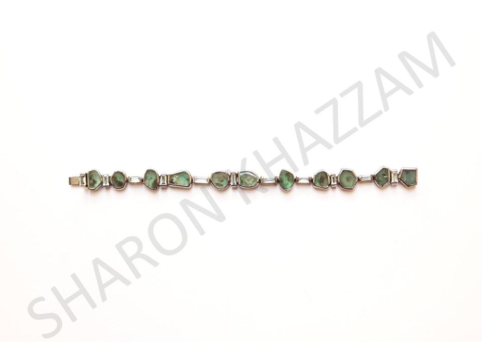 Emerald Manza Bracelet