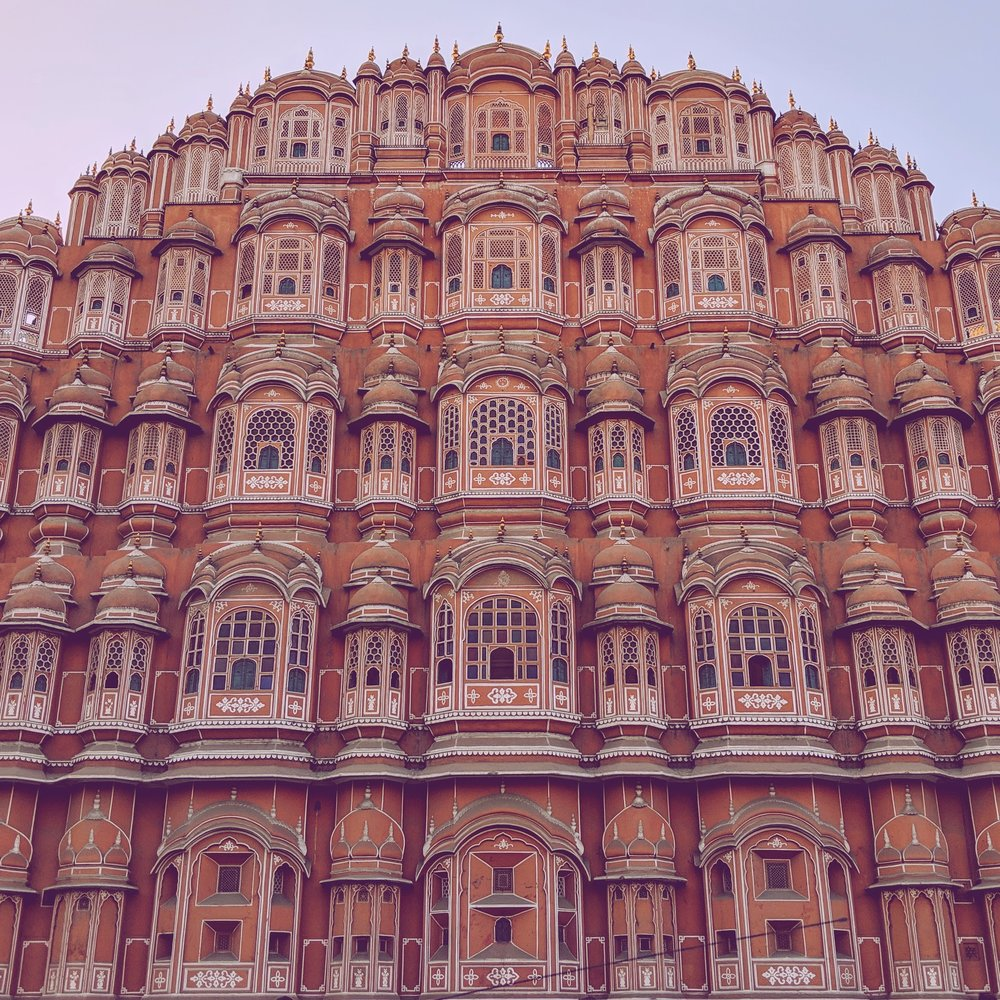 The majesty of the Hawa Mahal in Jaipur