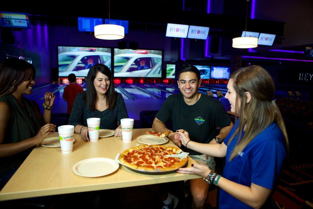 Pizza Party and Bowling