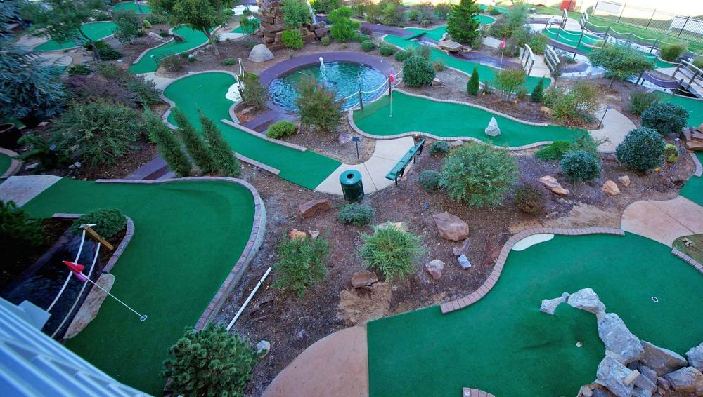 Creative Mini Golf Course