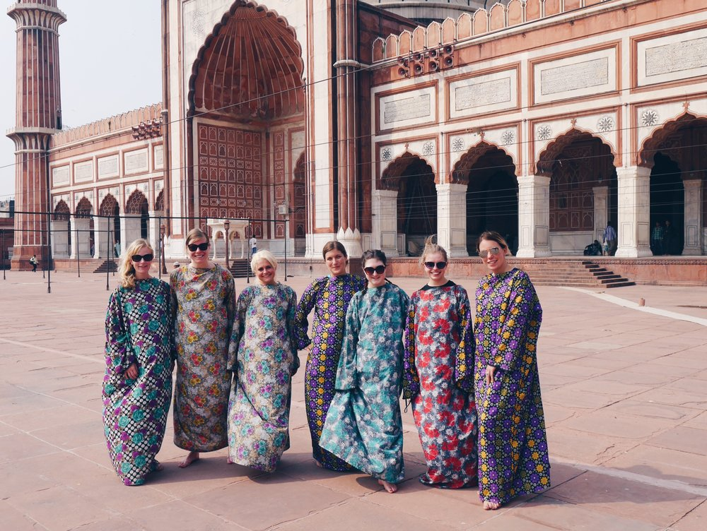 Haute couture in the mosque