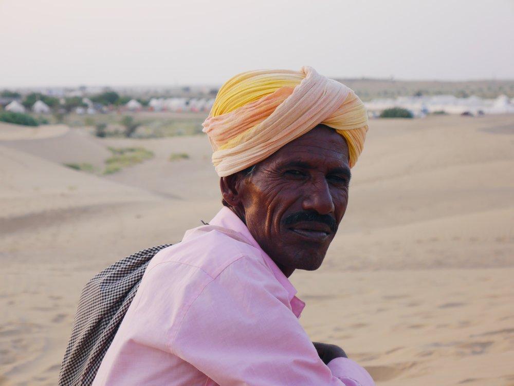 Jaisalmer, Rajasthan.  October 2016.