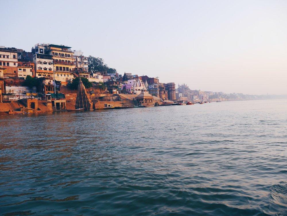 Ganges, Varanasi.  October 2016.