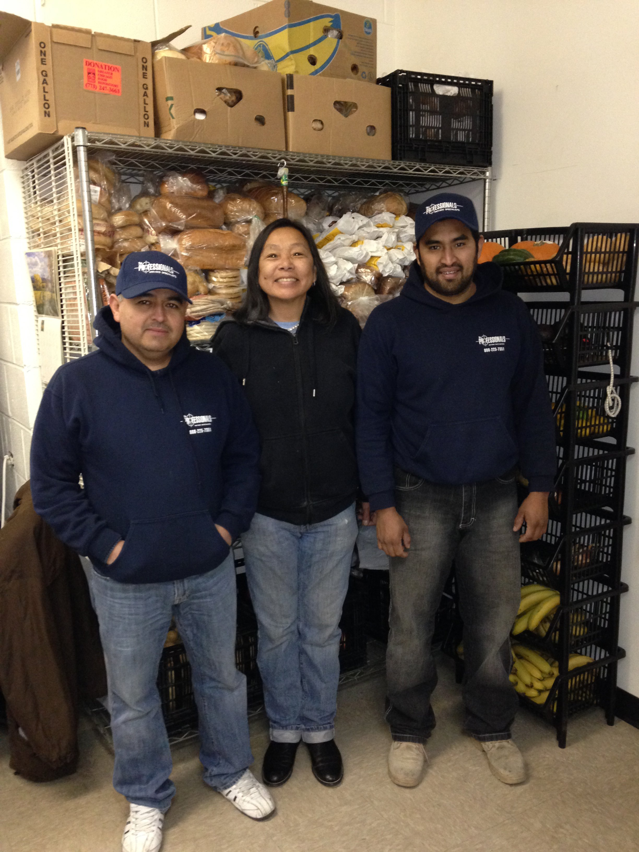 The Professionals Moving Specialists at the Common Pantry