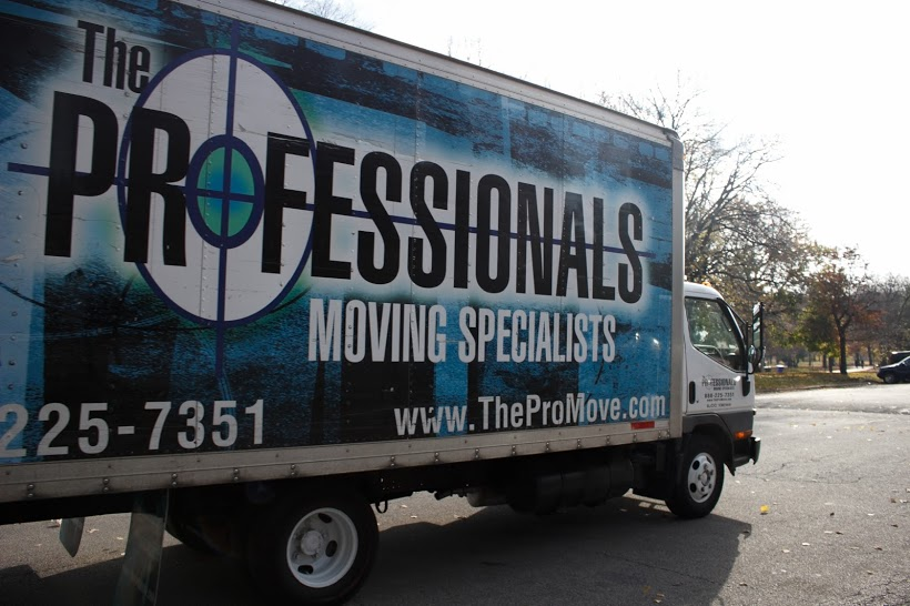 The Professionals Chicago Moving Truck