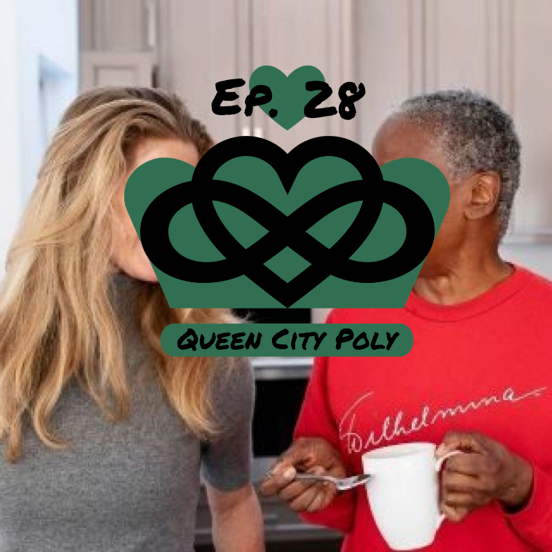 Alzheimer's and Non-Monogamy - In episode 28 of Queen City Poly, Brian O'Neil and Coach Kaey share some news about finger guns in the Charlotte comedy scene as well as Brian's latest attempt at talking to a pretty lady. Then the duo discuss the recent controversy about B. Smith and Dan Gasby's marriage. B. Smith and Dan Gasby have been public about their struggles following B's Alzheimer's diagnosis in 2013 and have even co-authored a book, titled, 'Before I Forget: Love, Hope, Help, and Acceptance in Our Fight Against Alzheimer's'. Dan's latest declaration of happiness in his new relationship with Alex Lerner is sparking quite a heated debate from those who do not condone any sort of non-monogamous relations, Alzheimer's or no Alzheimer's.Read more about the controversial Twitter and Facebook backlash on Blavity.