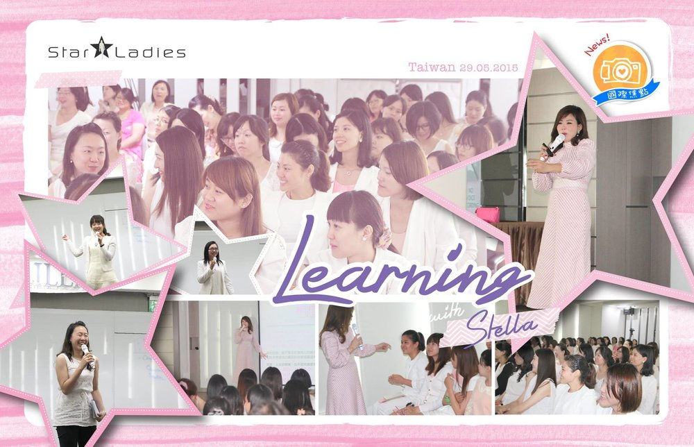 Good Morning Dearies~!! StarLadies Taiwan has started their first class on 29/5/15!  Looking forward for Malaysia first class to start!