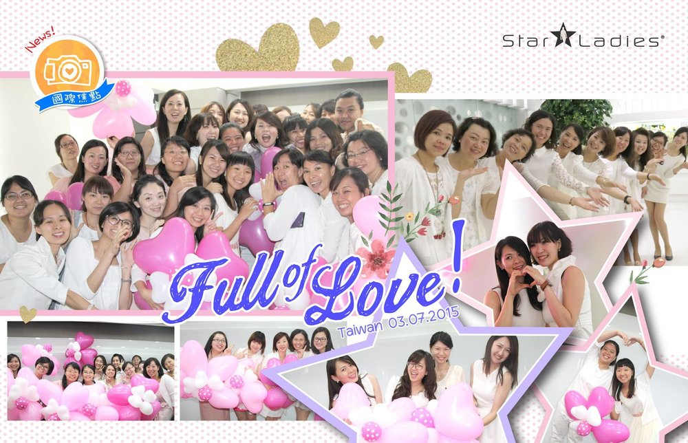 Good Afternoon Sisters~ How was your week going? Here is some love from StarLadies Taiwan to you~    <3