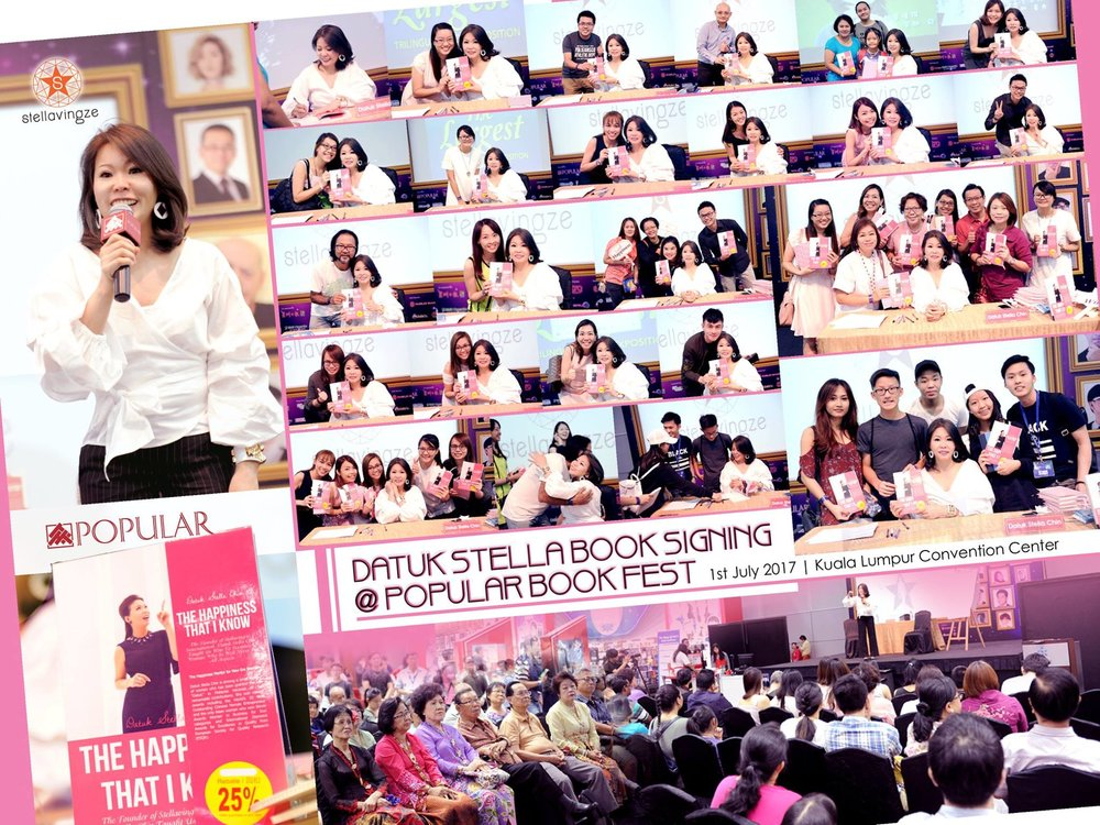 "BOOKFEST 2017 ""The Happiness That I Know"" was invited to be part of the BookFest 2017 sharing session! Thank you for everyone who came to support!  ""The Happiness That I Know"" is now available in all Bookstores in Malaysia at RM39.90! Get one for yourself now!  ""Your Beautiful, Balanced Life""   #BookFest2017   #TheHappinessThatIKnow   #Popular  #MPH   #Borders"