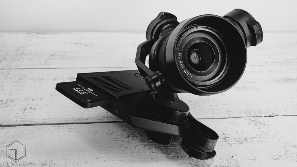 Skies Untold DJI X5R Camera.