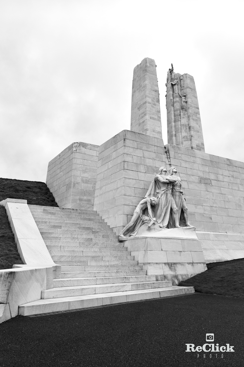 The Nation Canadian Vimy Monument, France.