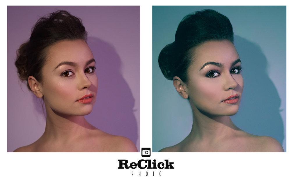 Retro style retouch