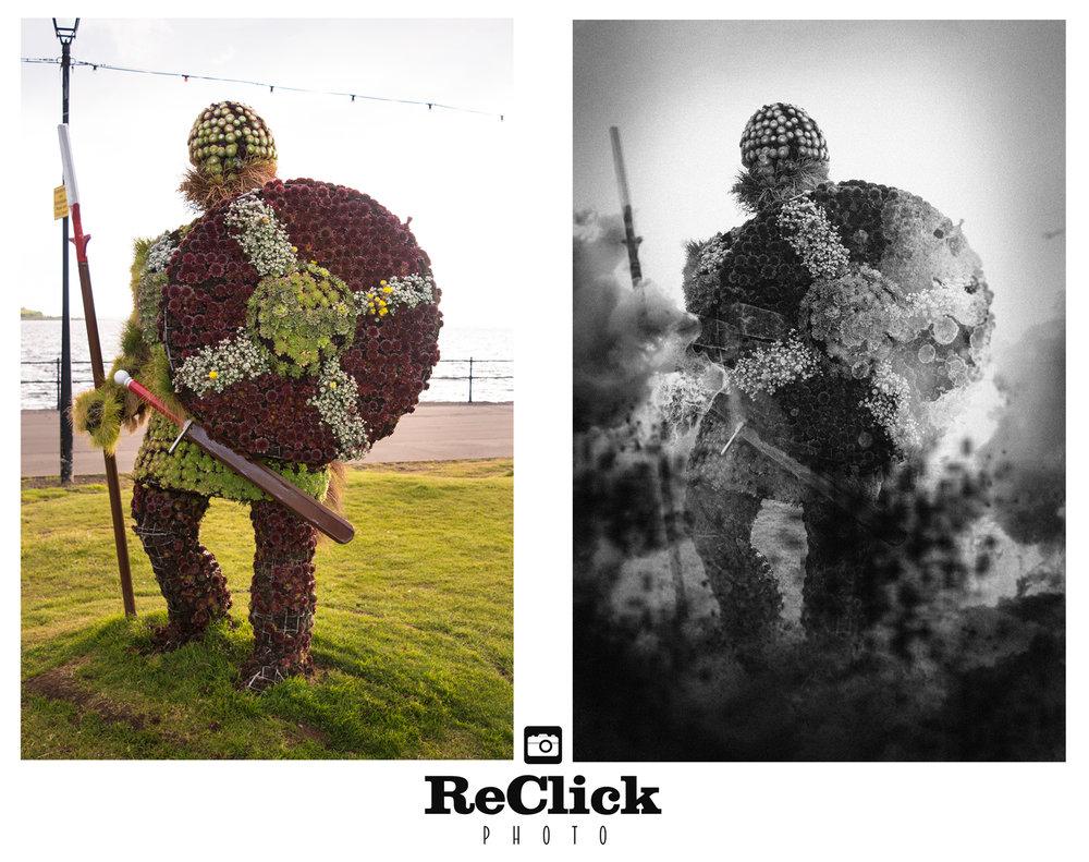 Creative retouching